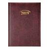 Ежедневник А6 датированный 2019 MIRADUR бордовый