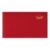 Еженедельник 2019 Brunnen карманный датированный MIRADUR красный