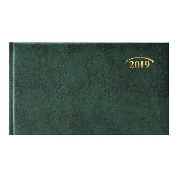 Еженедельник 2019 Brunnen карманный датированный MIRADUR зеленый