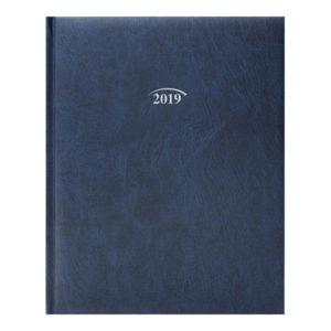 Еженедельник А4 Бюро 2019 MIRADUR синий