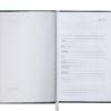 Ежедневник А6 карманный датированный 2019 BRILLIANT бордовый, твердая обложка 20574