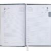 Ежедневник А6 карманный датированный 2019 BRILLIANT бордовый, твердая обложка 20578