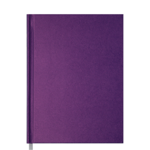 Ежедневник А5 датированный 2019 PERLA твердая обложка, фиолетовый