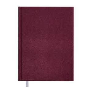 Ежедневник А5 датированный 2019 PERLA твердая обложка, бордовый