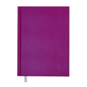 Ежедневник А5 датированный 2019 PERLA твердая обложка, малиновый