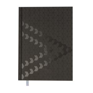 Ежедневник А5 датированный 2019 MONOCHROME черный, твердая обложка