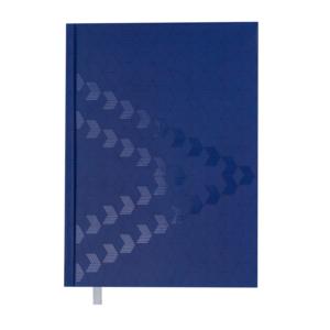 Ежедневник А5 датированный 2019 MONOCHROME синий, твердая обложка