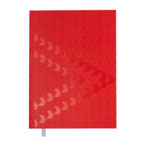 Ежедневник А5 датированный 2019 MONOCHROME красный, твердая обложка