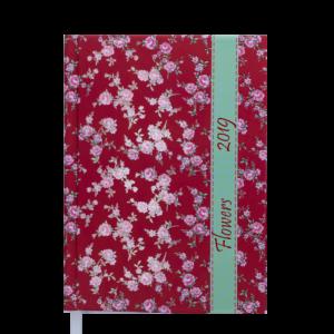 Ежедневник А5 датированный 2019 PROVENCE красный, твердая обложка
