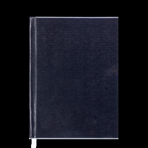 Ежедневник А5 датированный 2019 VELVET твердая обложка, черный