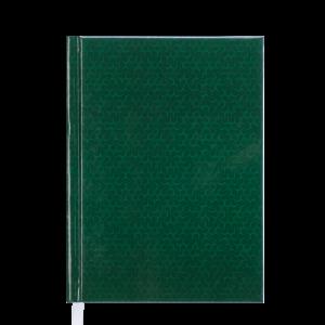 Ежедневник А5 датированный 2019 VELVET твердая обложка, зеленый