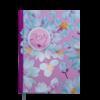 Ежедневник А5 датированный 2019 ESTILO малиновый, твердая обложка