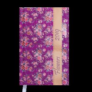 Ежедневник А6 карманный датированный 2019 PROVENCE розовый