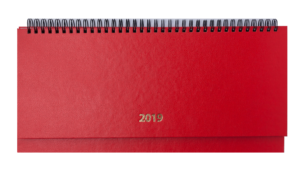 Планинг 2019 датированный STRONG красный