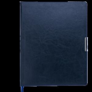 Еженедельник А4 2019 SALERNO синий, гибкая обложка