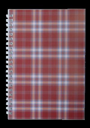 Блокнот  А5, 48 листов, SHOTLANDKA, пружина сбоку, клетка