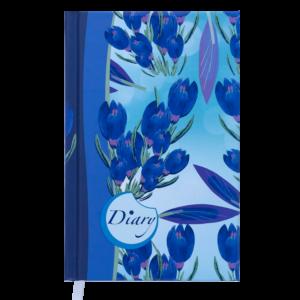 Ежедневник А6 недатированный CELINE голубой