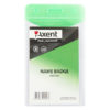 Бейдж вертикальный, 51х83 мм, глянцевый зеленый