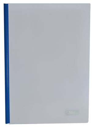 Папка пластиковая А4 с прижимной планкой, 6мм