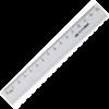 Линейка 15 см, алюминиевая BM.5800-15