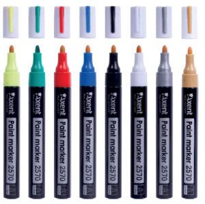 Маркер PAINT, арт.2570-A, толщина линии 2,4-2,8мм (8 цветов) для декоративных работ