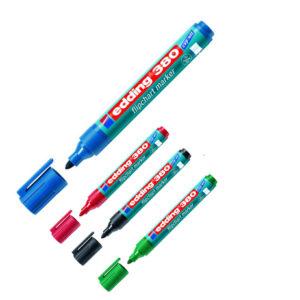 Маркер для флипчартов e-380 1.5-3 мм, круглый наконечник (4 цвета)