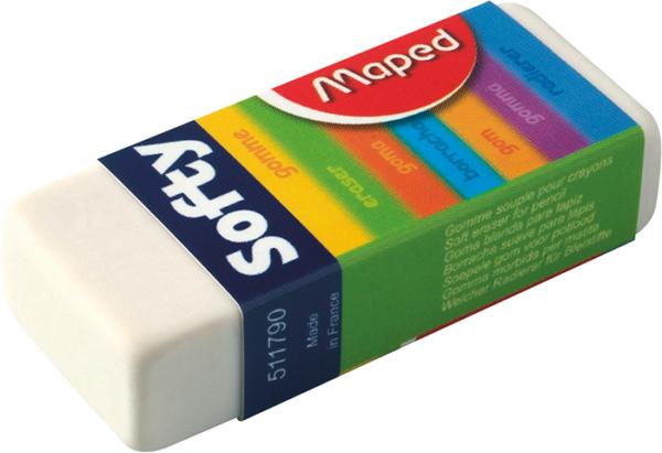 Ластик SOFTY Maped MP.511790 в картонном держателе