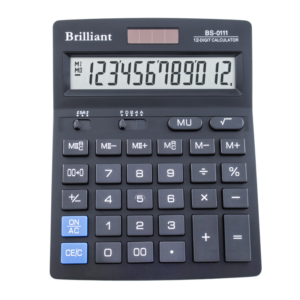 Калькулятор BRILLIANT BS-0111, 12 разрядов, две батареи