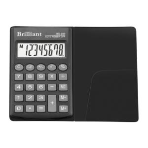 Калькулятор BRILLIANT BS-200, 8 разрядов, одна батарея