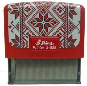 Оснастка для штампа 70х25мм Вышиванка SHINY