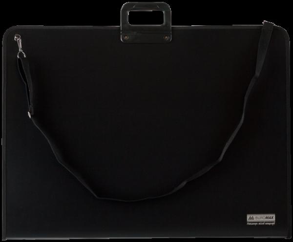 Портфель пластиковый А2, 1 отделение, на молнии