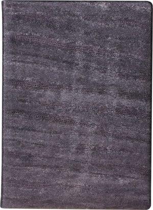 Ежедневник полудатированный GALAXY серый, кожа