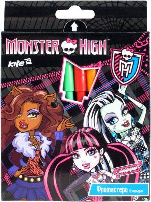 Фломастеры 12 цветов Monster High MH14-046K