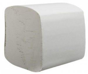 Туалетная бумага  в листах Укр-В301, 2-х слойная, 200шт
