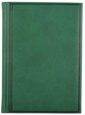 Ежедневник А6 недатированный TORINO зелений