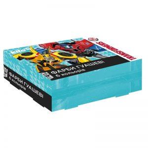 Гуашь 6 цветов, 20мл Transformers TF17-062