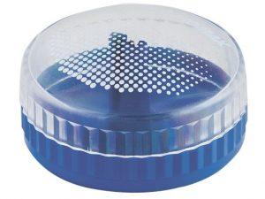 Точилка круглая с контейнером