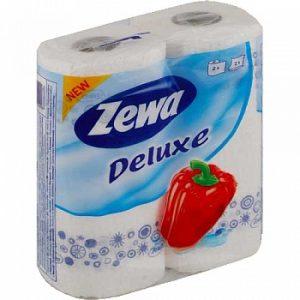Бумажные полотенца ZEWA Classik Delux 2рул.