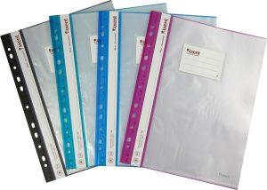 Папка пластиковая А4 с 20 файлами и боковой перфорацией Magic Stones