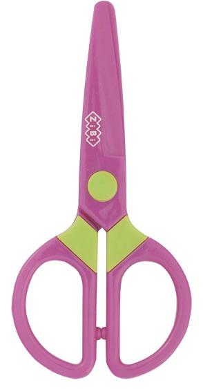 Ножницы детские 130мм с пластиковыми лезвиями