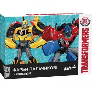 Пальчиковые краски 6 цветов, 35мл. Transformers TF17-064