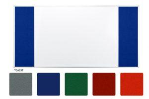 Доска комбинированная маркер/текстиль в рамке UKF