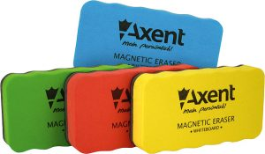 Губка для доски магнитная, яркие цвета, ТМ Axent
