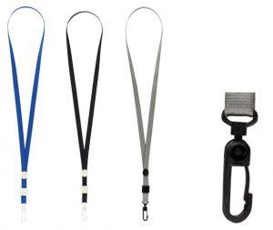 Шнурок для идентификатора с карабином