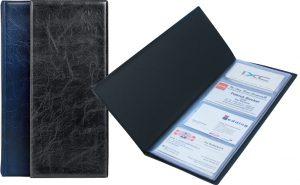 """Визитница на 80 визиток, обложка Xepter """"под кожу"""""""