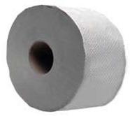 Туалетная бумага d-19см, 1-слойная, серая