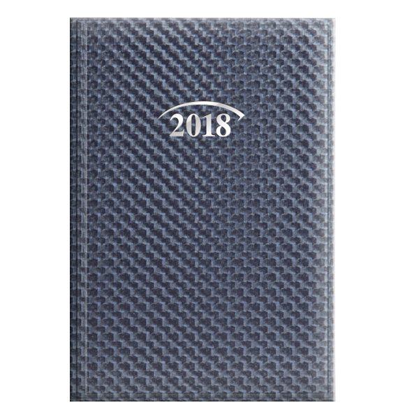 Ежедневник А6 датированный 2018 FANTASY синий