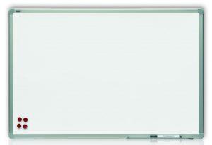 Доска магнитная для маркера ТМ 2х3, белая, в алюминиевой рамке ALU23