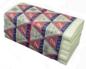 Полотенца-вкладыши Z-Best V-скл. 23,5х22см, 2-х слойн.160шт, белые