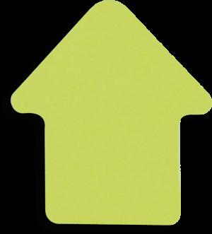 Блок бумаги СТРЕЛКА с клейким слоем, неоновые цвета, 50листов
